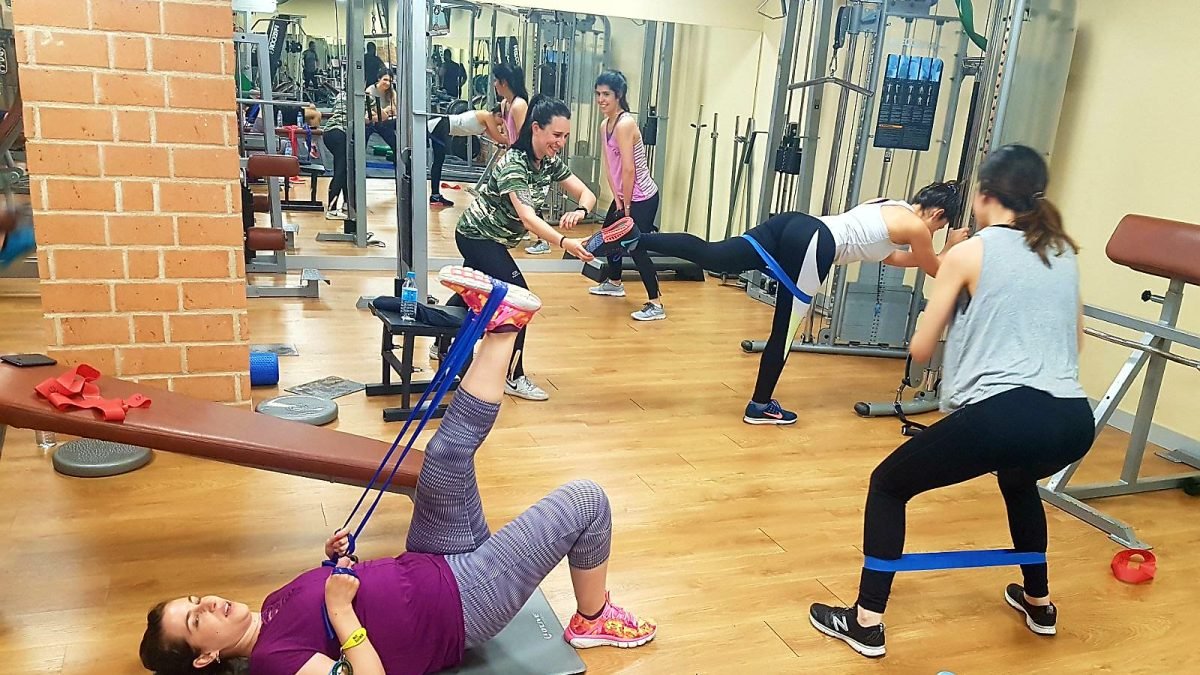 Brazil - Clase colectiva en Benefits Gym